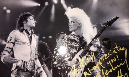 La chitarrista di Micheal Jackson e altri due grandi nomi al Druso