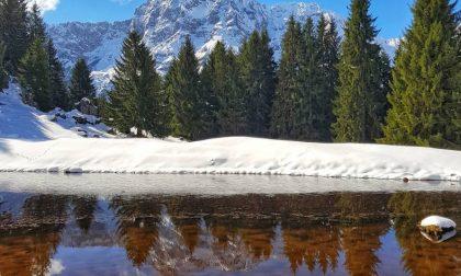 Neve, sole e riflessi a Valcanale – Daniel Pisoni