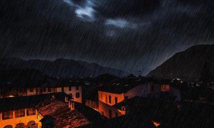 Pioggia su Clusone – Davide Rota