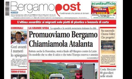 Cosa c'è nel nuovo BergamoPost che dal 26 aprile è in edicola