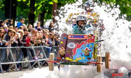 Soap Box Rally, vincitori e vinti Foto degli equipaggi e delle sfide