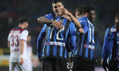 Bastano 15 minuti devastanti: l'Atalanta vince 4-1