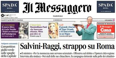 Le prime pagine dei giornali