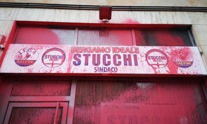 Sia Stucchi che Gori sotto attacco Quando il vandalismo è bipartisan