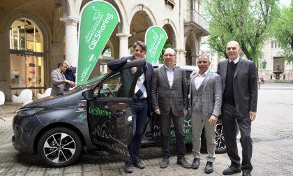Dieci auto elettriche da condividere Bergamo fa come le grandi capitali