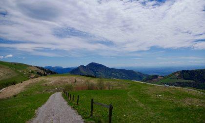 Monte Ballerino, magnifici panorami