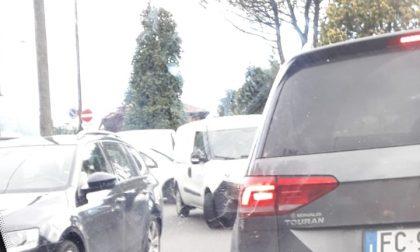 L'insostenibile traffico a Briolo