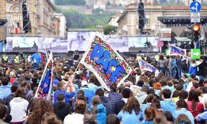 Il grazie di Olivero a Bergamo per quei ventimila giovani in piazza