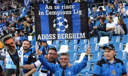 Volti e sorrisi da Champions League L'album della serata della storia