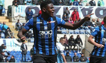 L'Atalanta abbatte anche la Lazio Ora è quarta a un punto dall'Inter