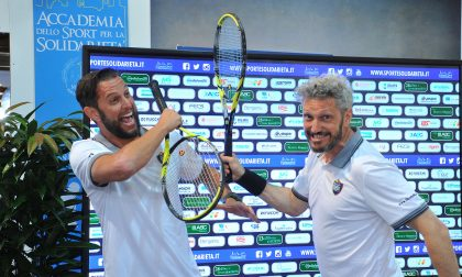 Tennis 2019, la coppia Doni-Fantini e il sorriso di Moreno Morello