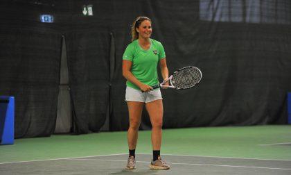 """Tennis 2019, è arrivata la neve con la Moioli e i talenti """"bianchi"""""""