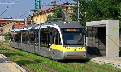 A Bergamo in tram, anche la sera Lo chiedono i Comuni della Valle