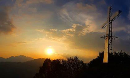 Esplosione di sole sul Monte Coren - Luca Rota