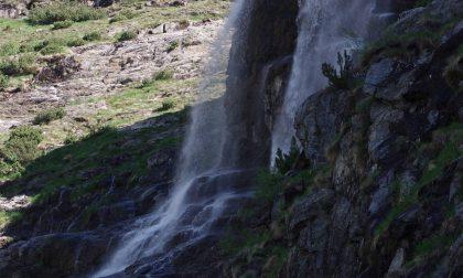 La cascata di Fiume Nero – Angelo Corna