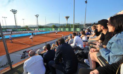 Tennis 2019, pienone sulle tribune con la simpatia di Valerio Staffelli