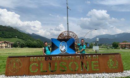 Marco e Matteo, 56 km in 10 ore per festeggiare l'impresa della Dea