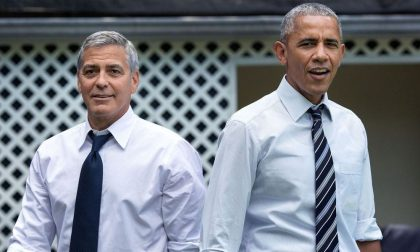 Barack e Michelle Obama ospiti di Clooney e Amal sul lago di Como