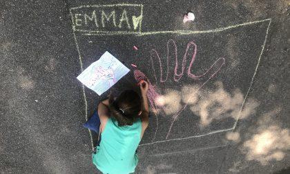 Un concorso di disegni sull'asfalto per aiutare i bambini in ospedale