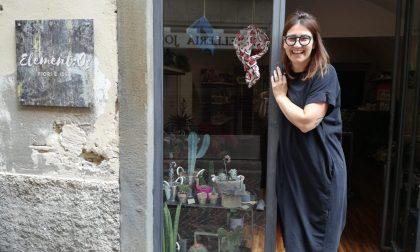 Daniela e un negozio pieno di idee per fare rifiorire la amata Alzano