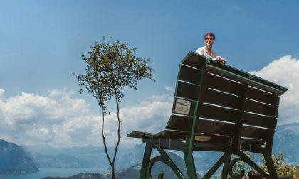 In cima al mondo a Montisola - Alberto Locatelli
