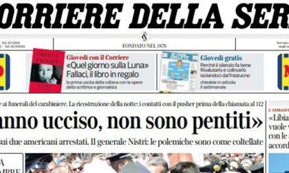 Le prime pagine dei giornali martedì 30 luglio 2019