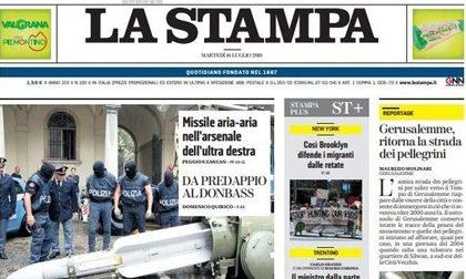 Le prime pagine dei giornali martedì 16 luglio 2019