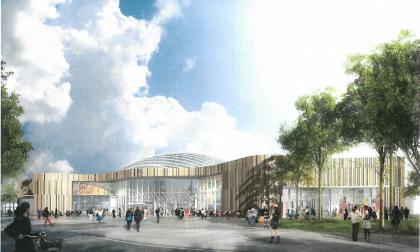 """Curno, facciamo il punto sui lavori del """"nuovo"""" centro commerciale"""