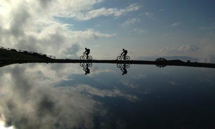 Il primo pellegrinaggio (in bicicletta) sulla nuova Alta via delle Grazie