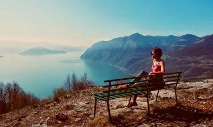 Vista non male sul lago d'Iseo – Federica Casari