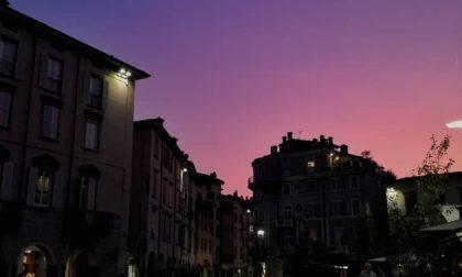 Sfumature di viola in Piazza Pontida – Alessia Omizzolo