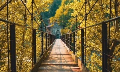 Un ponte sulla bellezza (Ubiale Clanezzo) – Enrico Azzola