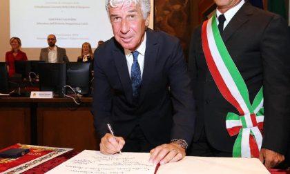 Il grazie commosso all'uomo che ha reso Bergamo felice