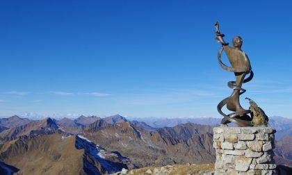L'arcangelo Gabriele dai tre volti lassù, in vetta al monte Cadelle
