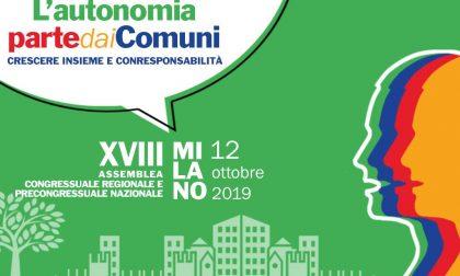 Sabato 12 ottobre Assemblea Congressuale di Anci Lombardia con elezione del nuovo Presidente