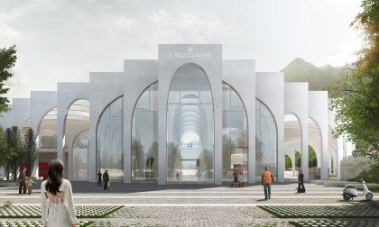 La cattedrale bianca dell'acqua che la Sanpellegrino sta costruendo