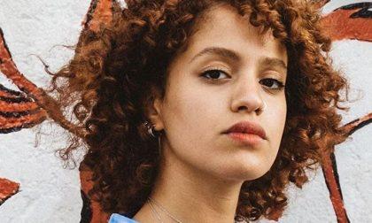 Mariam Rouass ai live di X Factor Talentuosa marocchina di Bergamo