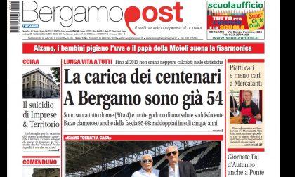 Cosa c'è nel nuovo BergamoPost che dall'11 ottobre è in edicola