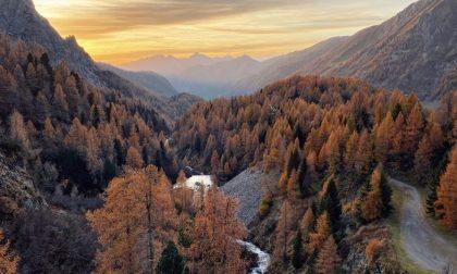 Quei tramonti d'autunno a Carona - Stefano Ponzoni