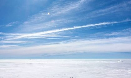 Sopra un mare di nuvole alla Presolana - Marco Pendezza