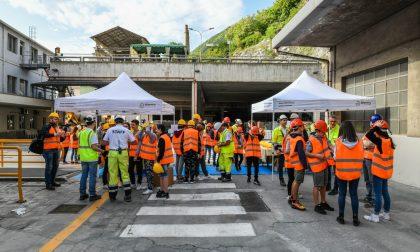 Open day a Tavernola Bergamasca per scoprire come nasce il cemento