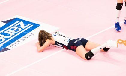 La grinta non basta alla Zanetti Esordio da applausi per l'Olimpia