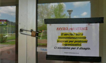 Bar chiusi in tre centri sportivi «Disagi per centinaia di utenti»