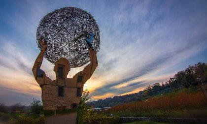 Arte che riflette bellezza (Valle d'Astino) - Luke