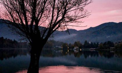 Attimi di tramonto sul lago di Endine - Ros