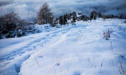 Cielo, neve e nuvole al Rifugio Capanna – Luca Gherardi