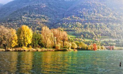 Pace autunnale (lago di Endine) - Martina