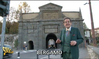 Bellezze gratis: Daverio promuove tutta Bergamo a Striscia la Notizia