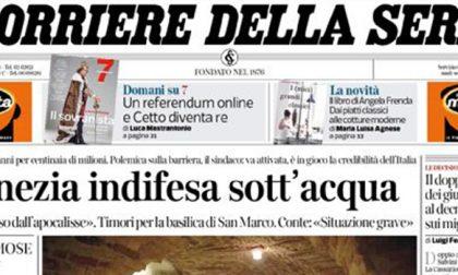 Le prime pagine dei giornali giovedì 14 novembre 2019