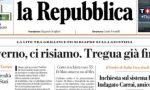 Le prime pagine dei giornali mercoledì 27 novembre 2019